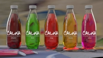 "Advertising concept ""Galina"" drinks"