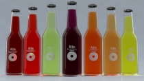 "Advertising concept ""Atlin"" drinks"