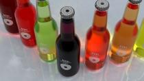 "Advertising concept ""Atlin"" drinks"